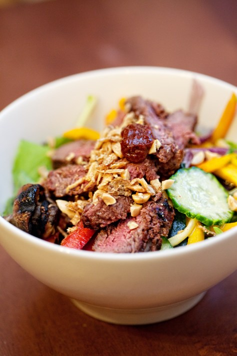 The Ivory Hut: Kalbi Beef Salad