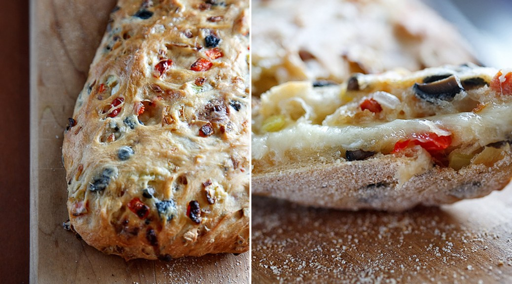 The Ivory Hut: Crazy Pizza Bread