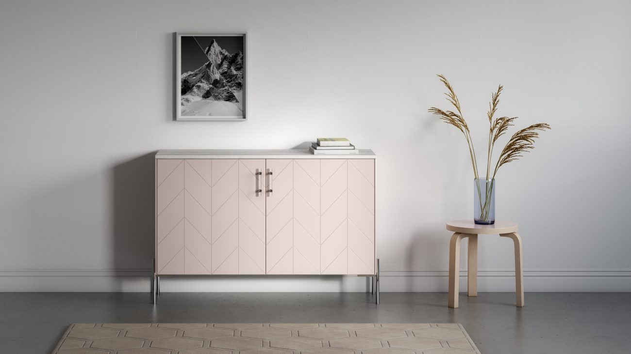 Ikea Credenza Designers Are Using Norse Interiors To Upgrade Ikea Furniture And
