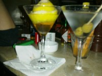 James Bond and a Dry Martini.. the perfect start to a very long night