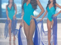 Miss Lebanon 2012 Rina Chaabani swimsuit