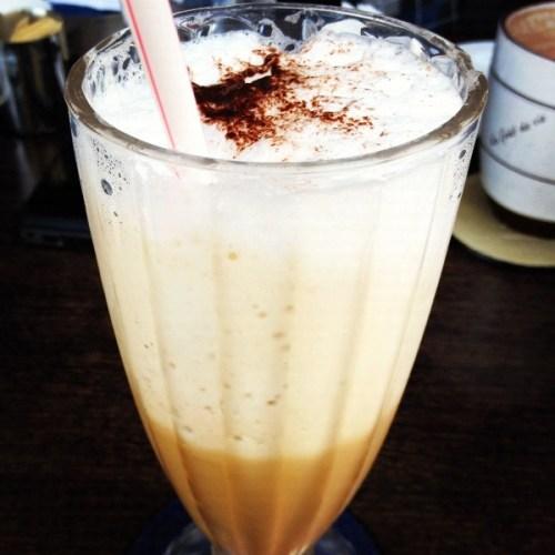 Casper & Gambini's frappuccino