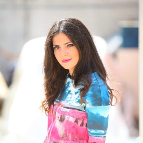 YSL Makeup Ivy Says shoot