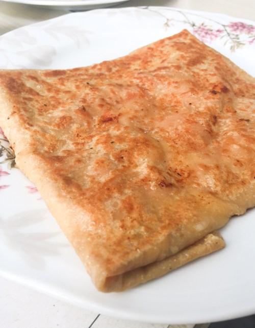 La Crêperie  Crepe Jambon fromage Beurre