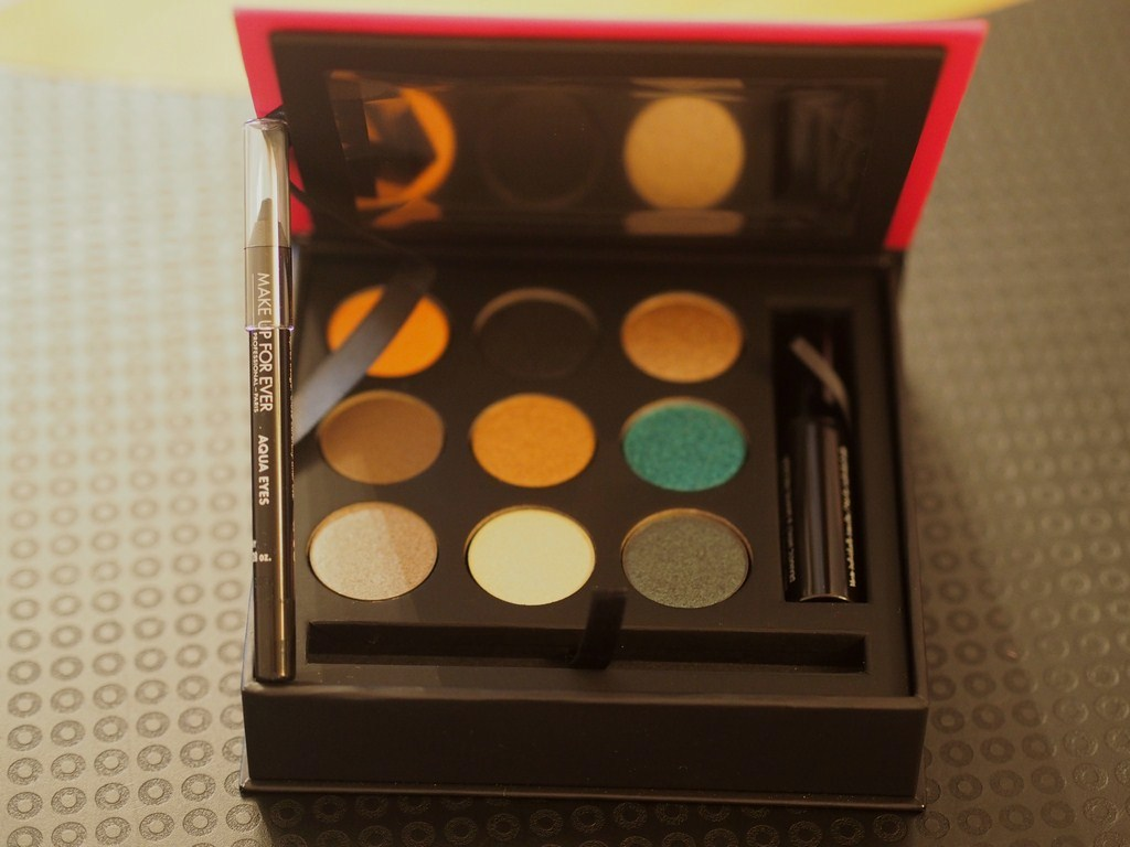 artist eye collection makeup for ever ivy says beauty blogger