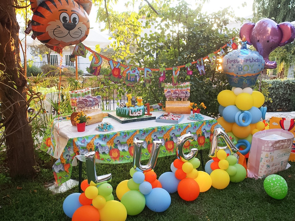 baby lucas sweet table birthday