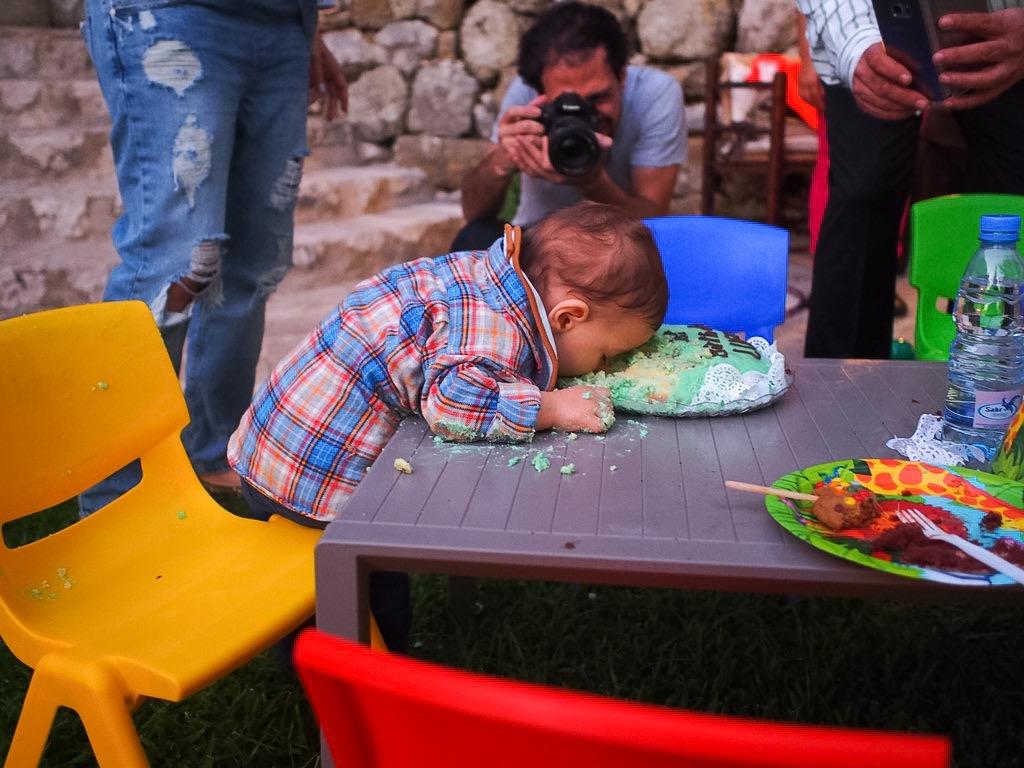 baby luca birthday lifestyle blog