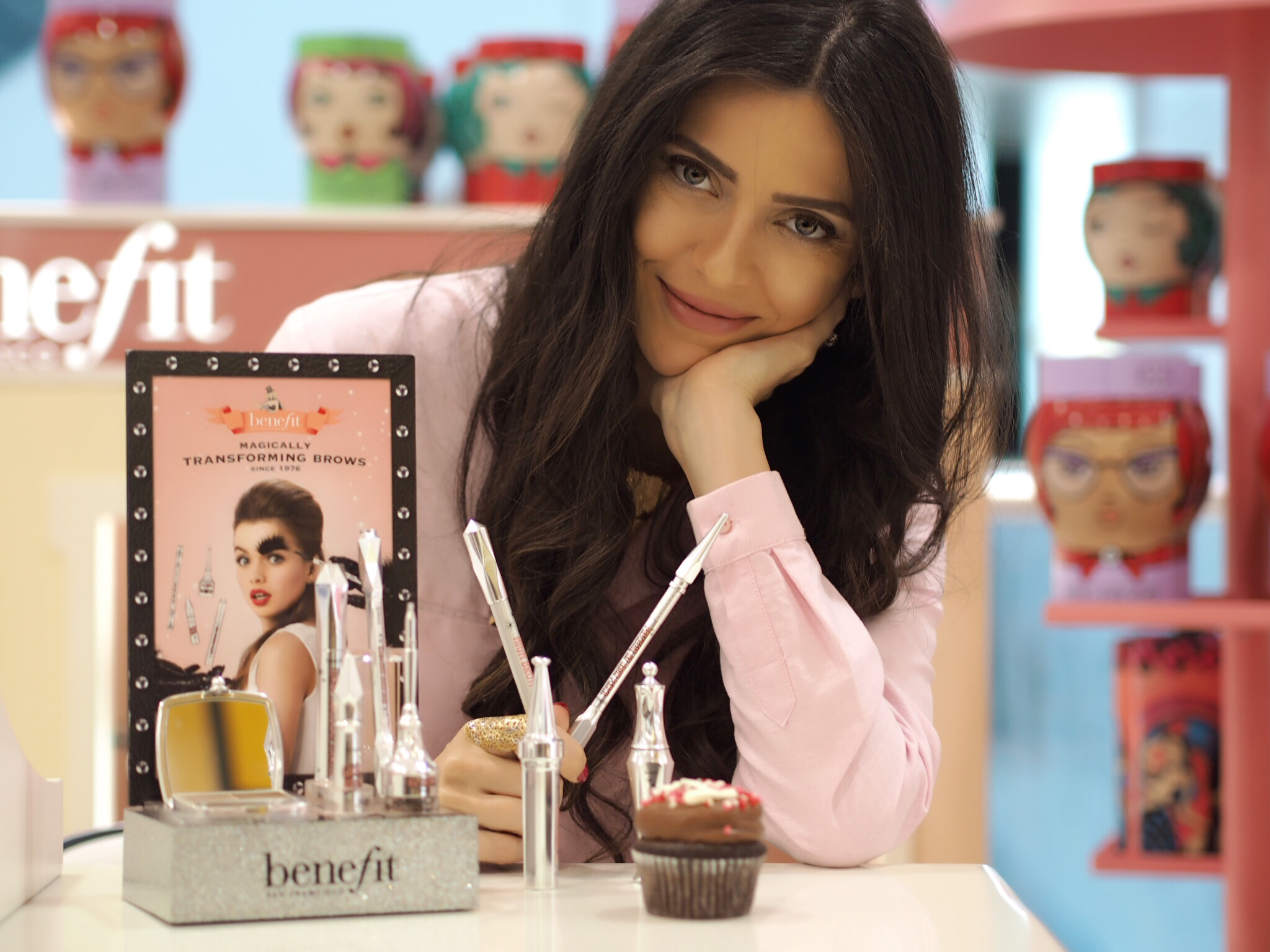 ivy says benefit cosmetics