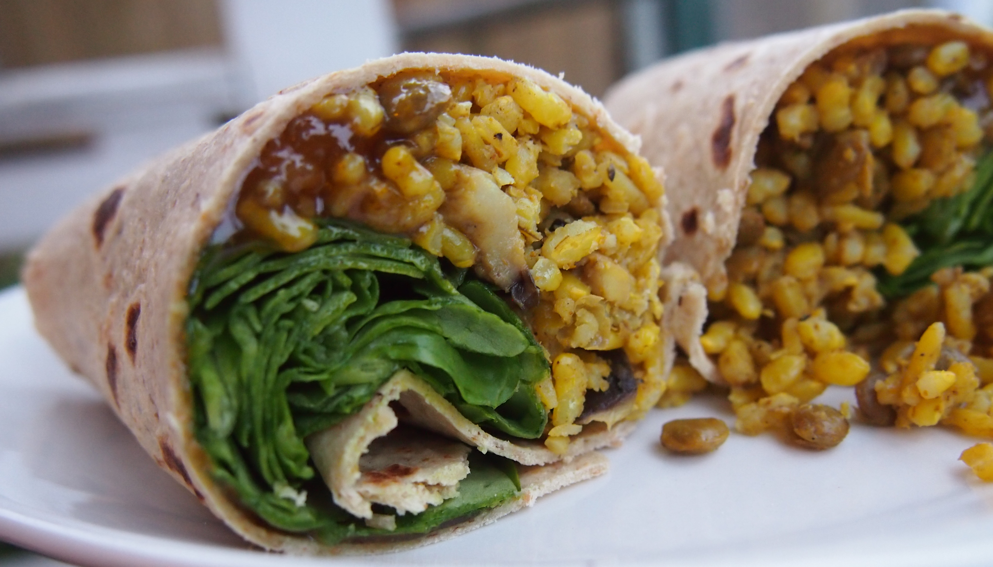Wraps Vegan Curry In A Hurry Wraps Ivysmushbowl