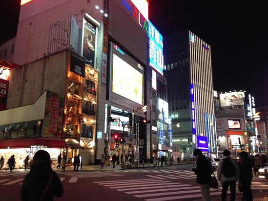 新宿信号①