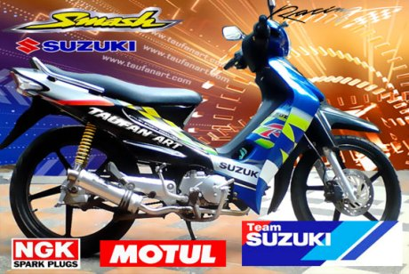 modifikasi suzuki smash taufanexpander