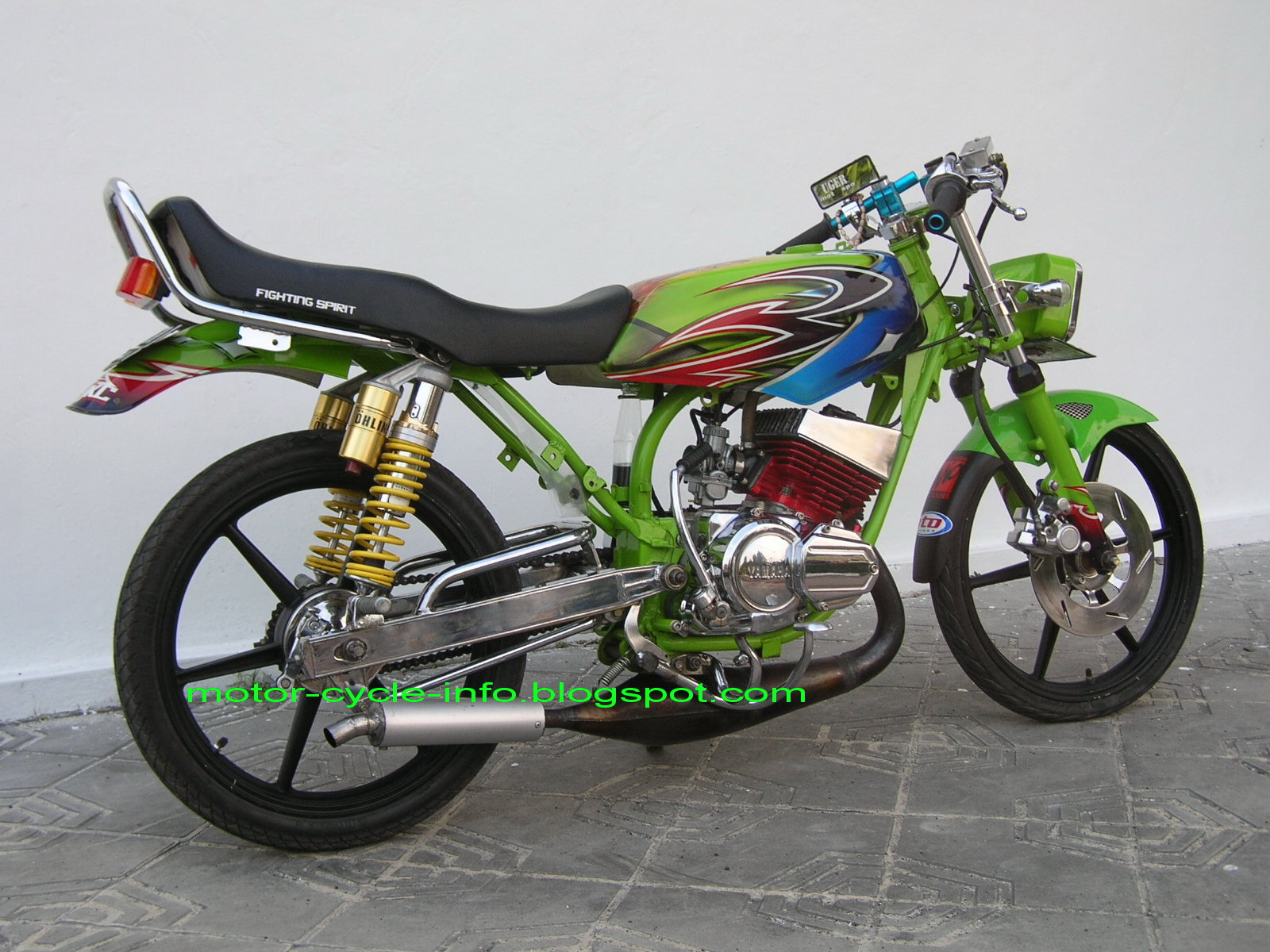 Rx King Modif Mio 29 rx king 2010 airbrush x
