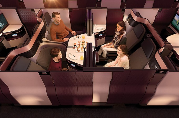 image credit: Qatar Airways