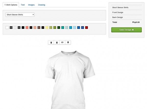 Copy Paste Prints Express Online Shirt Customization PHP Mysql
