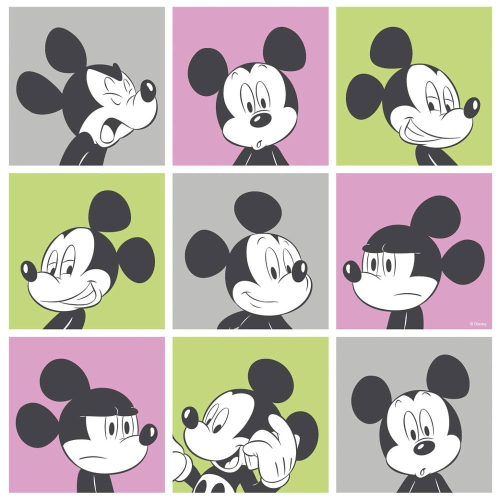 Comic Tapete Galerie Official Disney Mickey Mouse Pop Art Pattern