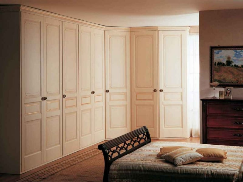 Camere Mobili Bespoke Fitted Wardrobes -made To Measure Corner, Walk-in