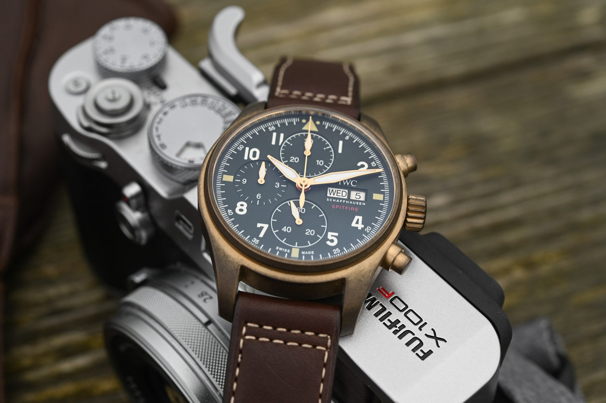 Iwc Replica Iwc Pilot S Fake Watch Chronograph With 41mm Case Manufacture