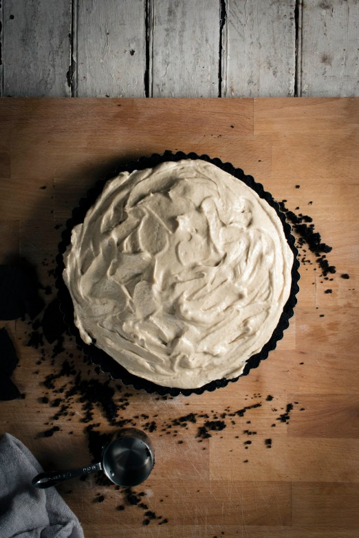 Tahini Mousse Pie with Silan and Halva | I Will Not Eat Oysters