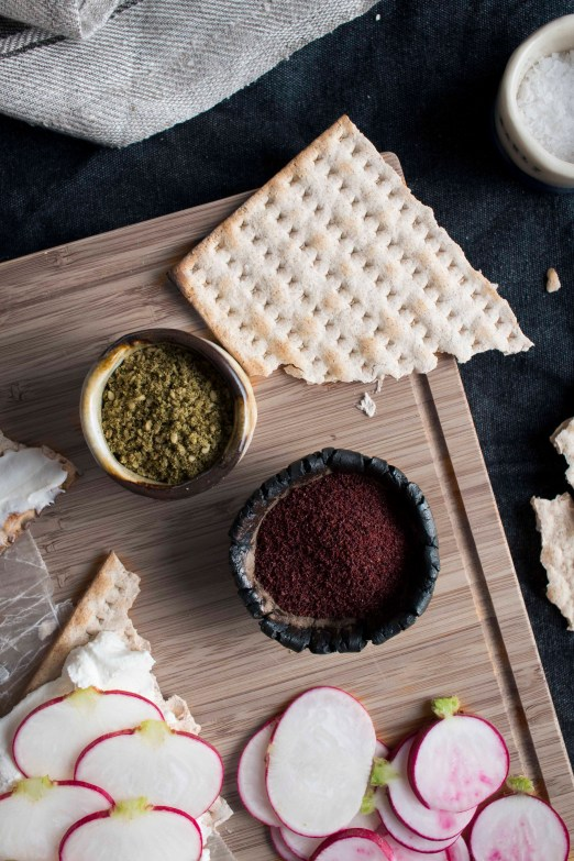 """Matza & Labne """"Toasts""""   I Will Not Eat Oysters"""