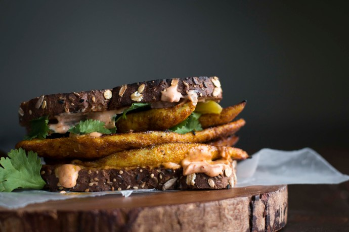 Chicken Shawarma Sandwich with Harissa Mayo | I Will Not Eat Oysters