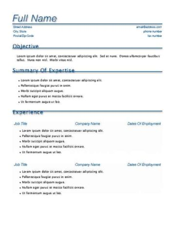 Blue Accent Resume with Cover Page \u2022 iWorkCommunity - resume with accent