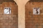 A very nice toilet in Mole National Park, Ghana