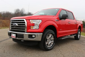 Be among the first to test drive a 2015 Ford F-150 at this year's Cleveland Auto Show.