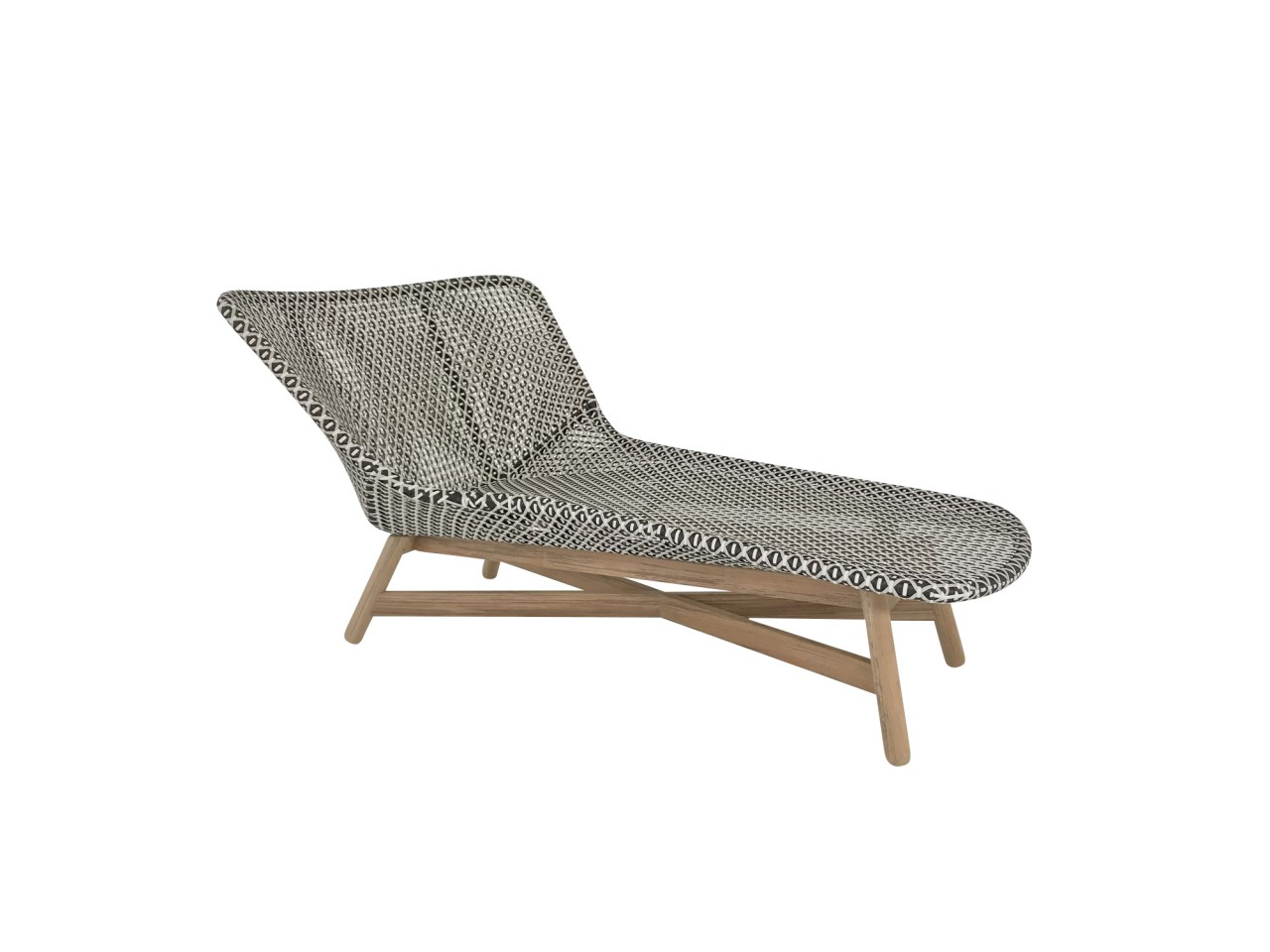 Dedon Mbrace Dedon Mbrace Daybed Liege In Der Farbe Pepper Dedon