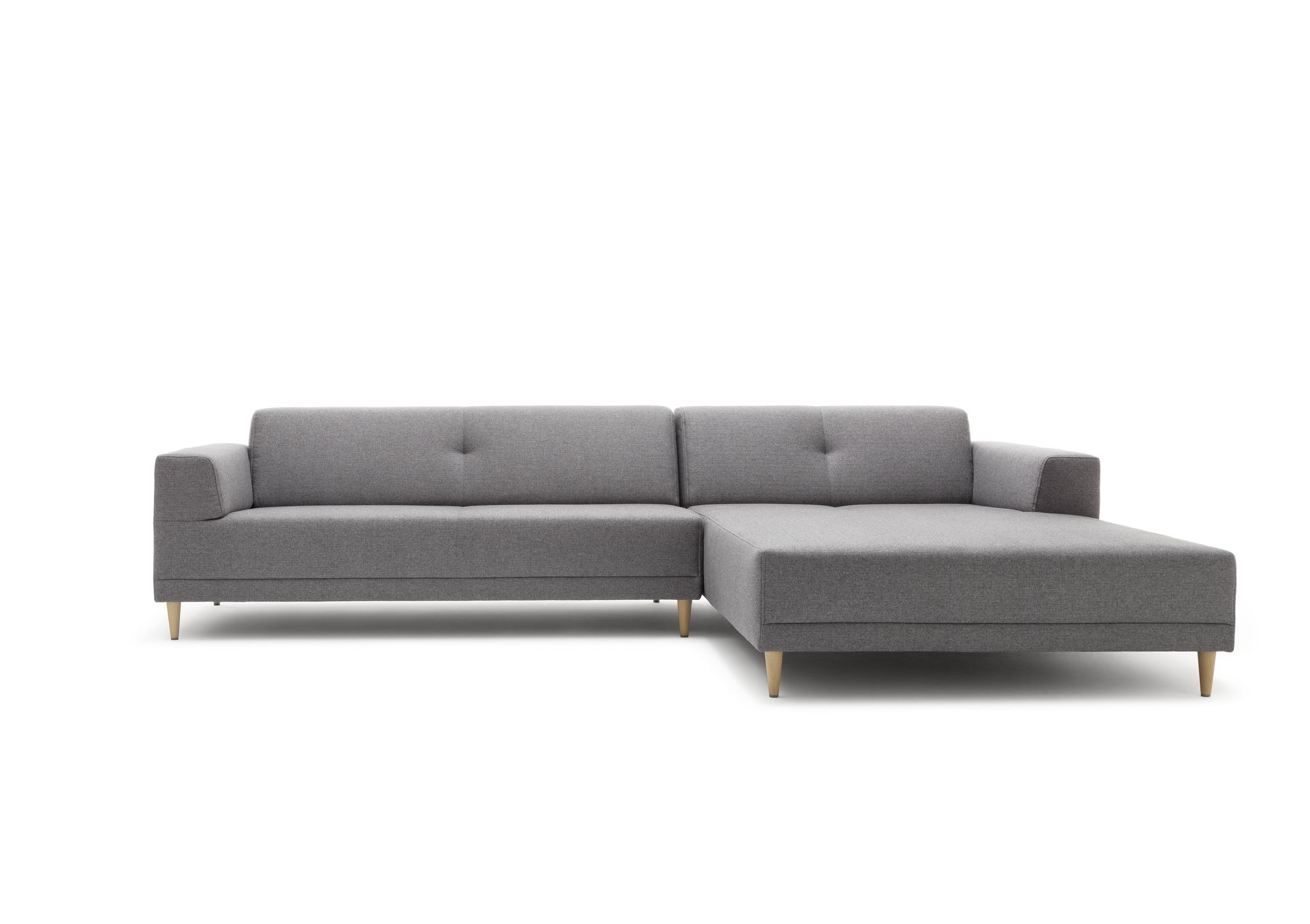 Rolf Benz Sofa 6600 Freistil 189 Rolf Benz Sofa Mit Recamiere In Stoff