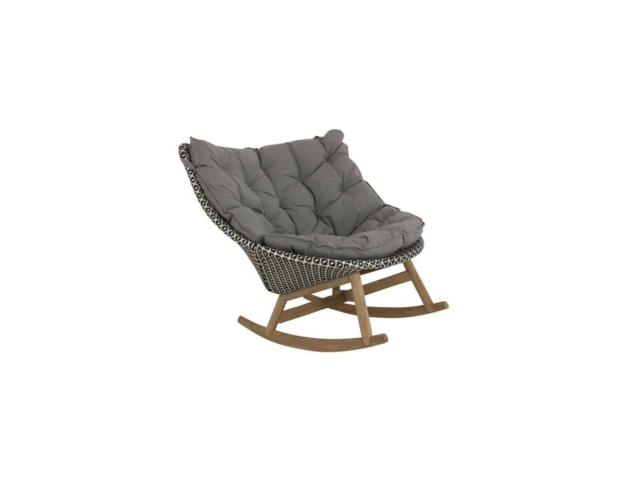 Dedon Mbrace Dedon Mbrace Rocking Chair Schaukel Sessel In Der Farbe