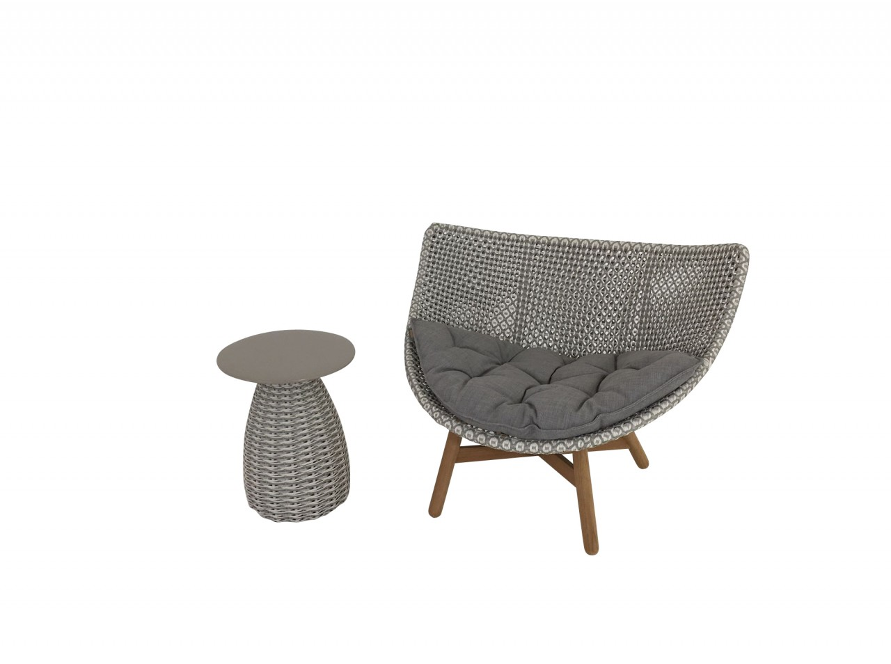 Dedon Mbrace Dedon Mbrace Lounge Chair In Limited Edition Farbe Carrara