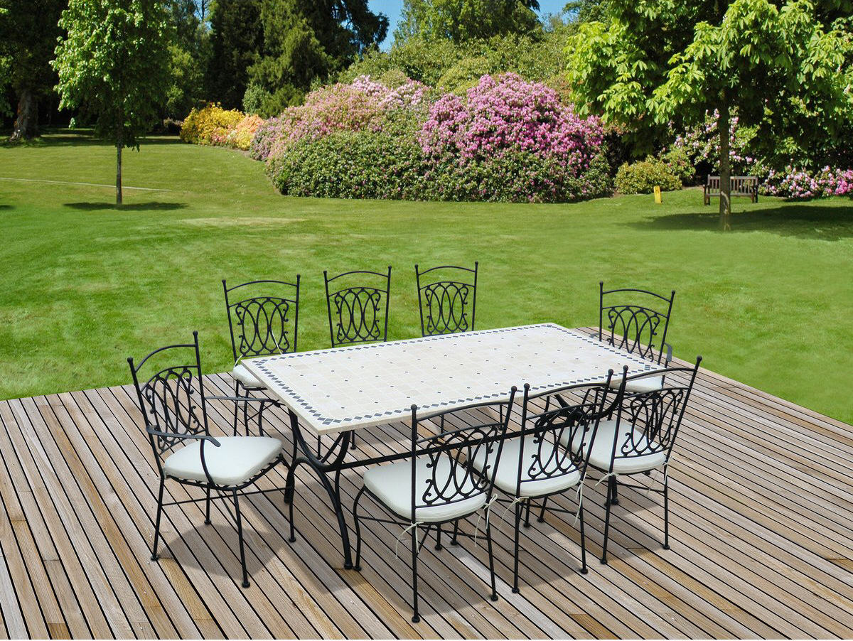 Salon Alice Garden Salon De Jardin Alice S Garden Table 200cm 8 Places