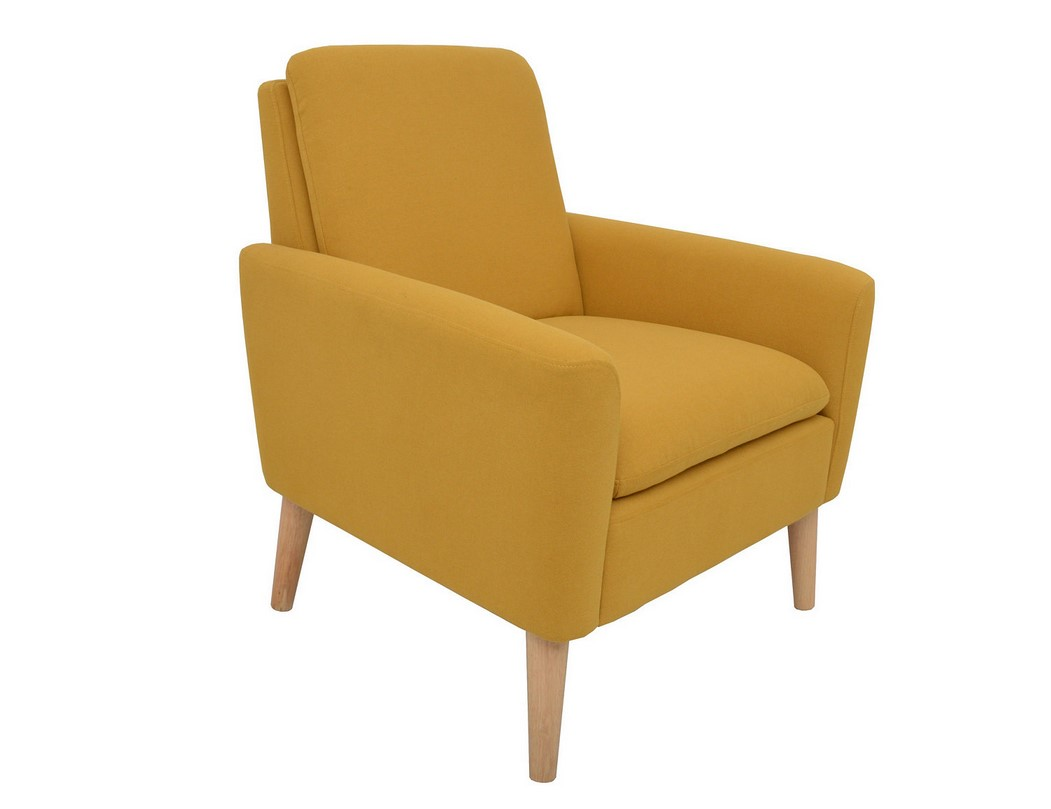 Fauteuil Club Jaune Fauteuil Chilly Tissu Jaune Pas Cher Fauteuil But Iziva
