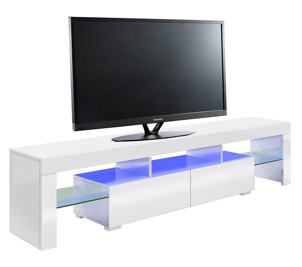 Meubles En But Meuble Tv Led Gamer Predator Blanc Pas Cher Meuble Tv But