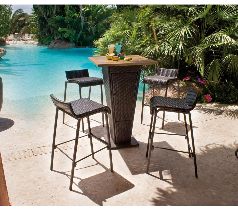 Salon De Jardin Carrefour Set Bar Table 4 Chaises Prix 231 99 Euros Iziva Com