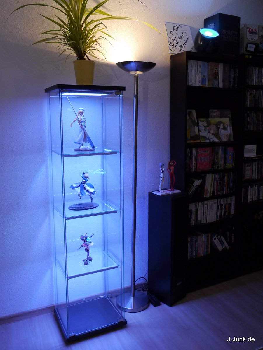 Detolf Vitrine Ikea Detolf Mit Leds Wireless Ultimate Version J Junk