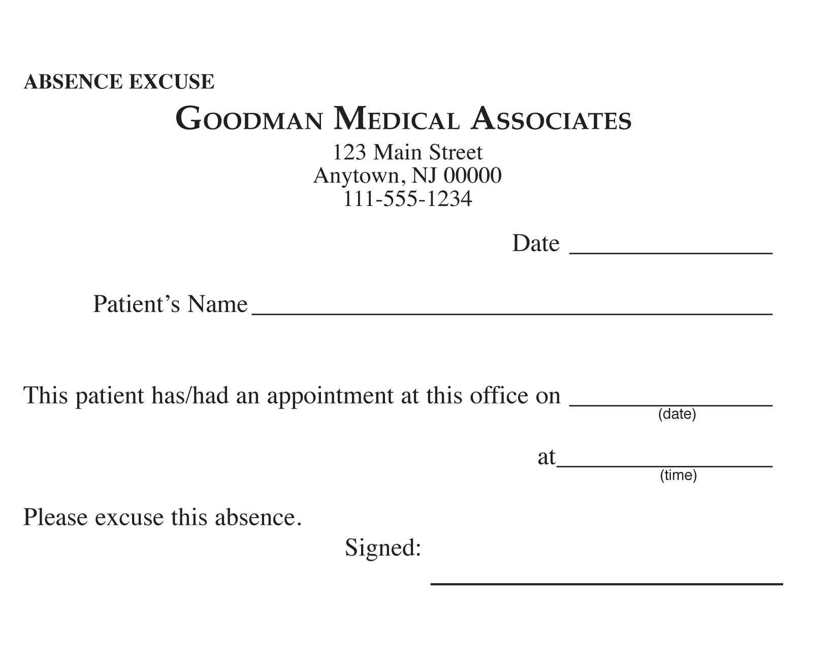 excuse letter for work absence best almarhum excuse letter for work absence absence excuse letter for school buzzle doctor excuse form doctors excuse