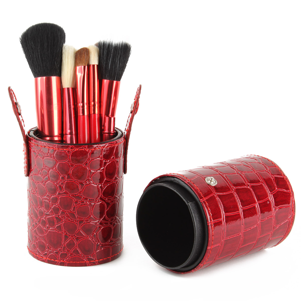 Aufbewahrung Make Up Pinsel Kosmetik Pinsel Bürste Set Halter Make Up Pinselhalter