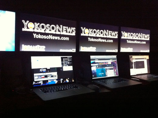 YokosoNews Ustream Studio