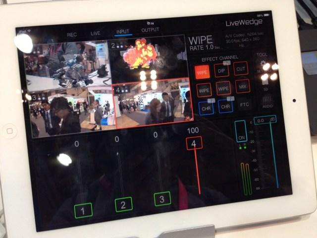 Cerevo LiveWedge iPad App