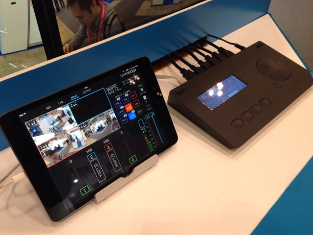 Cerevo LiveWedge and iPad 2