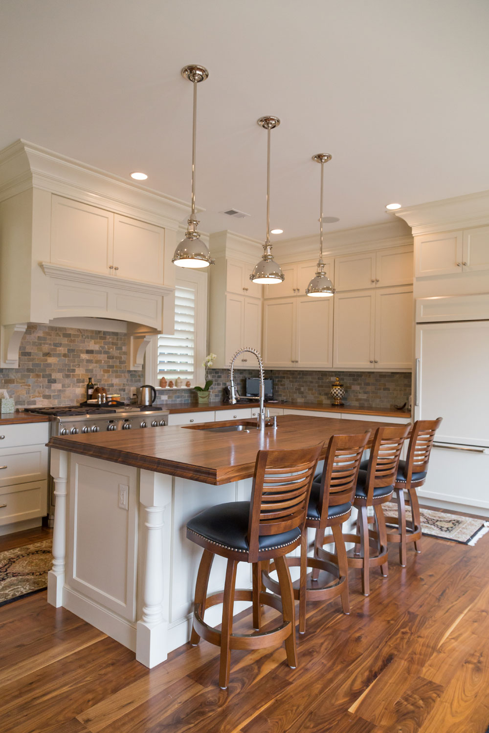 Wood Island Tops Kitchens Walnut Countertops - J. Aaron