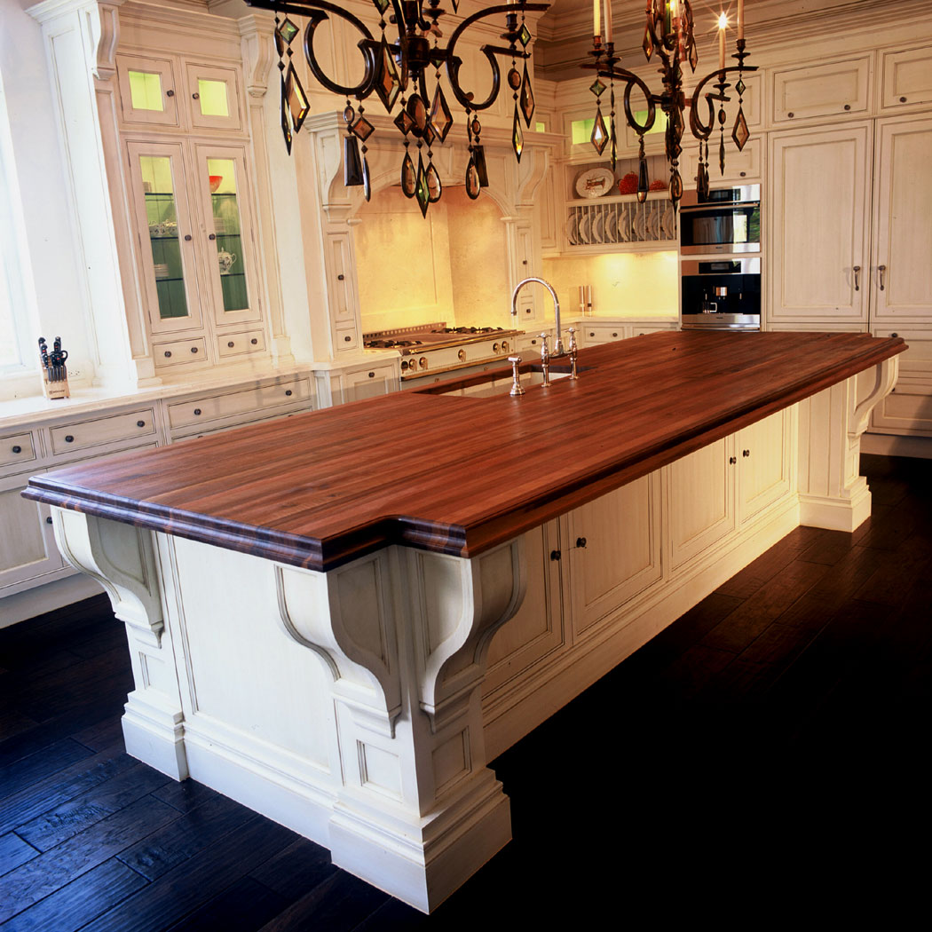 Kitchen Island Butcher Block Tops Construction Styles J Aaron