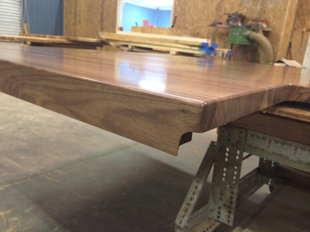 Built Up Edges On Wood Countertops J Aaron