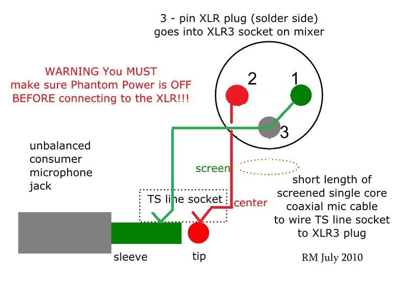 Microphone Mic Wiring Diagram Online Wiring Diagram