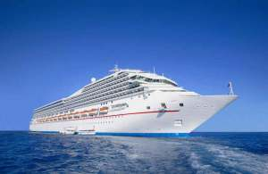 Cruise ships Polluted sea waters