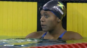 fastest female swimmers, who is Alia Atkinson