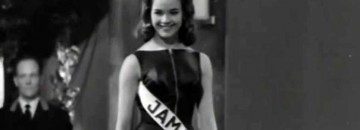 Rare Footage of Jamaica's First Miss World Winner (1963-Video)