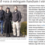 Duglegustu þingmenn sem sitja á alþingi í dag. MYND: Skjáskot.
