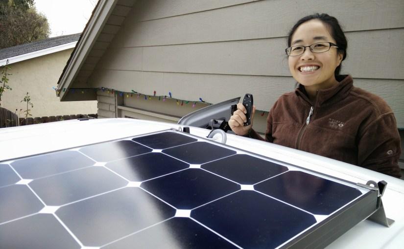 #VanLife, Our Solar Power Setup